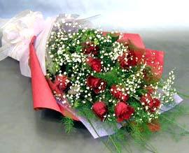 10 adet kirmizi gül çiçegi gönder  Çorum çiçek online çiçek siparişi