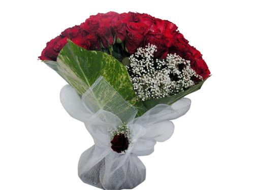 25 adet kirmizi gül görsel çiçek modeli  Çorum kaliteli taze ve ucuz çiçekler