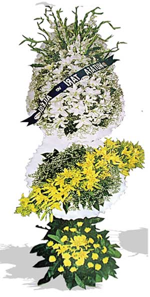 Dügün nikah açilis çiçekleri sepet modeli  Çorum hediye çiçek yolla