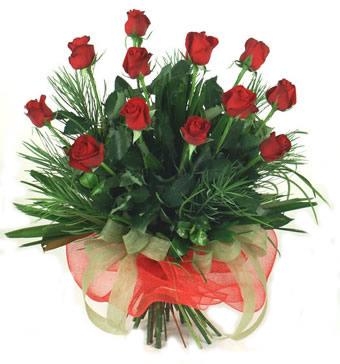 Çiçek yolla 12 adet kirmizi gül buketi  Çorum online çiçekçi , çiçek siparişi