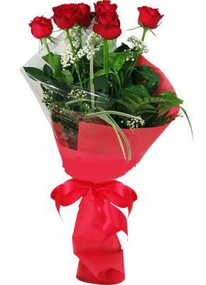 7 adet kirmizi gül buketi  Çorum çiçek gönderme sitemiz güvenlidir