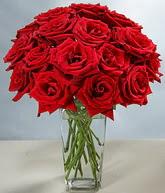 Çorum internetten çiçek satışı  cam vazoda 11 kirmizi gül  Çorum çiçek servisi , çiçekçi adresleri