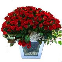 Çorum çiçek siparişi vermek   101 adet kirmizi gül aranjmani