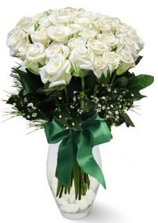 19 adet essiz kalitede beyaz gül  Çorum çiçek siparişi vermek
