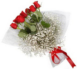7 adet kirmizimi kirmizi gül buketi  Çorum çiçek servisi , çiçekçi adresleri