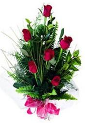 Çorum online çiçekçi , çiçek siparişi  5 adet kirmizi gül buketi hediye ürünü