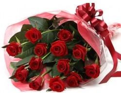 Çorum çiçek online çiçek siparişi  10 adet kipkirmizi güllerden buket tanzimi