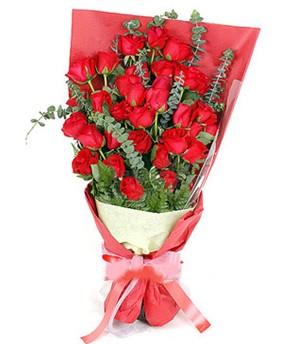 Çorum çiçek satışı  37 adet kırmızı güllerden buket