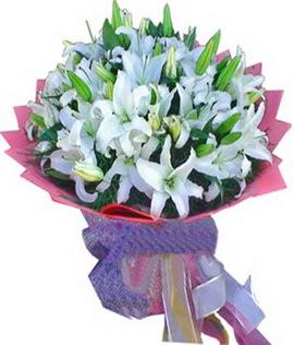 7 dal cazablanca görsel buketi  Çorum internetten çiçek satışı