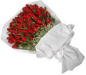 Çorum çiçek yolla  51 adet kırmızı gül buket çiçeği