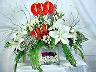 Çorum güvenli kaliteli hızlı çiçek  Anthurim Kazablanka  gül