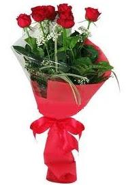 Çiçek yolla sitesinden 7 adet kırmızı gül  Çorum internetten çiçek siparişi