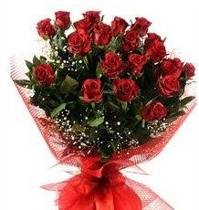 İlginç Hediye 21 Adet kırmızı gül  Çorum online çiçek gönderme sipariş