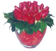 Çorum uluslararası çiçek gönderme  11 adet kaliteli kirmizi gül - anneler günü seçimi ideal