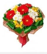 1 demet karışık buket  Çorum çiçek servisi , çiçekçi adresleri