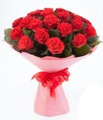 15 adet kırmızı gülden buket tanzimi  Çorum çiçekçiler
