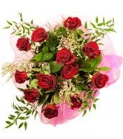 12 adet kırmızı gül buketi  Çorum hediye sevgilime hediye çiçek