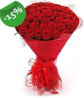 51 adet kırmızı gül buketi özel hissedenlere  Çorum çiçekçiler