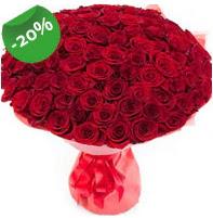 Özel mi Özel buket 101 adet kırmızı gül  Çorum çiçek online çiçek siparişi