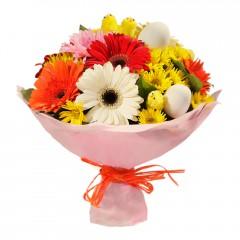 Karışık mevsim buketi Mevsimsel çiçek  Çorum online çiçek gönderme sipariş