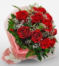 12 adet kırmızı güllerden kaliteli gül  Çorum cicek , cicekci