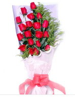 19 adet kırmızı gül buketi  Çorum anneler günü çiçek yolla