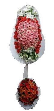 çift katlı düğün açılış sepeti  Çorum internetten çiçek siparişi
