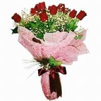 Çorum çiçekçiler  12 adet kirmizi kalite gül