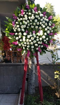 Çorum online çiçek gönderme sipariş  Cenaze Çelengi  Çorum çiçekçiler