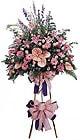 Çorum online çiçekçi , çiçek siparişi   Ferforje Pembe kazablanka