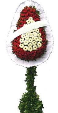 Çift katlı düğün nikah açılış çiçek modeli  Çorum çiçek yolla