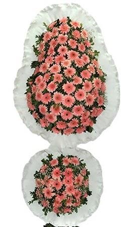 Çift katlı düğün nikah açılış çiçek modeli  Çorum cicekciler , cicek siparisi