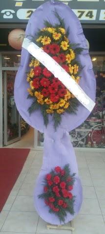 Çift katlı nikah düğüne çiçek modeli  Çorum online çiçek gönderme sipariş
