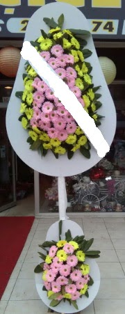 Çift katlı düğün nikah açılış çiçeği  Çorum çiçek online çiçek siparişi