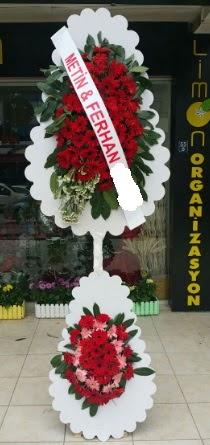 Çift katlı düğün nikah çiçeği modeli  Çorum çiçekçiler