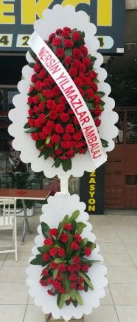 Çift katlı düğün nikah çiçeği modeli  Çorum çiçek siparişi sitesi