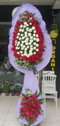 Çift katlı işyeri açılış çiçek modeli  Çorum çiçekçi mağazası
