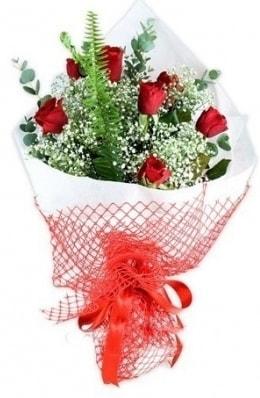 7 adet gülden kız arkadaşıma çiçek  Çorum çiçek , çiçekçi , çiçekçilik