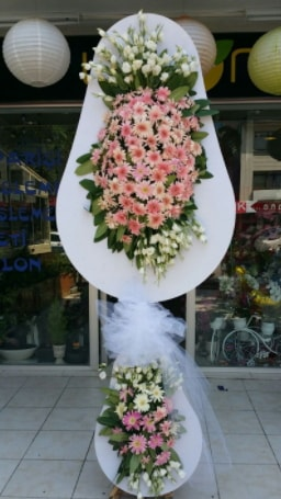 Çift katlı özel şahane sepet çiçeği  Çorum çiçek , çiçekçi , çiçekçilik