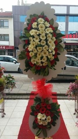 Çift katlı düğün açılış çiçeği  Çorum ucuz çiçek gönder