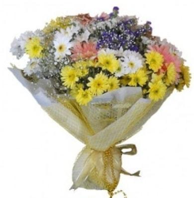 Karışık mevsim çiçeği  Çorum ucuz çiçek gönder