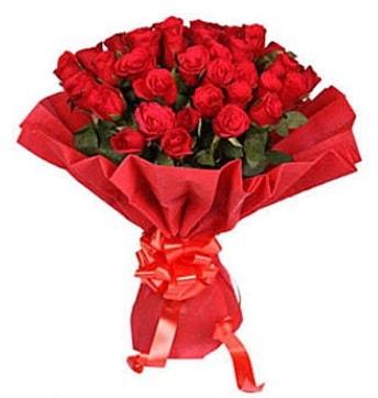 41 adet gülden görsel buket  Çorum ucuz çiçek gönder