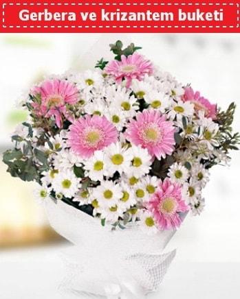 Papatya ve Gerbera Buketi  Çorum hediye çiçek yolla