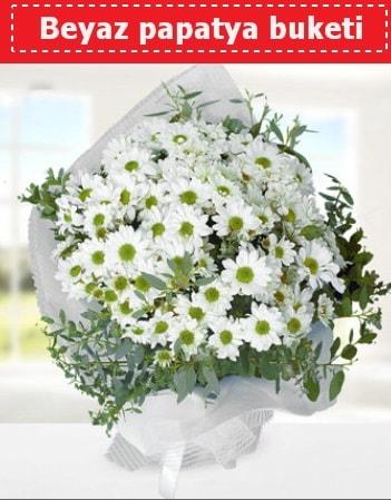 Beyaz Papatya Buketi  Çorum hediye sevgilime hediye çiçek