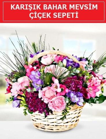 Karışık mevsim bahar çiçekleri  Çorum çiçekçi mağazası