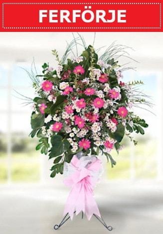 Ferförje düğün nikah açılış çiçeği  Çorum çiçekçi telefonları