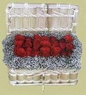 Çorum 14 şubat sevgililer günü çiçek  Sandikta 11 adet güller - sevdiklerinize en ideal seçim
